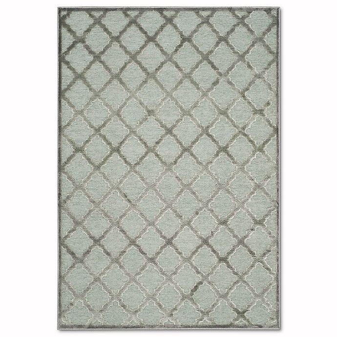 Alternate image 1 for Safavieh Paradise Trellis 8-Foot x 11-Foot 2-Inch Rug in Grey/Spruce