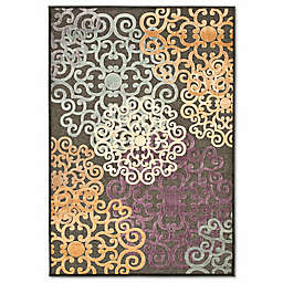 Safavieh Paradise Large Floral 8-Foot x 11-Foot 2-Inch Rug in Charcoal