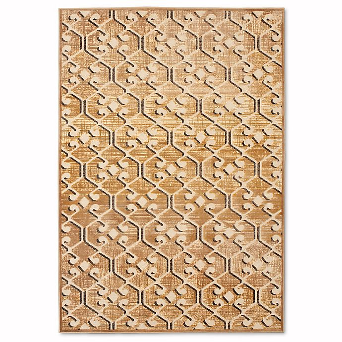 Alternate image 1 for Safavieh Paradise Geo 8-Foot x 11-Foot 2-Inch Rug in Taupe