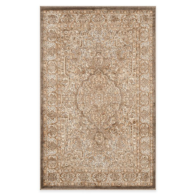 Alternate image 1 for Safavieh Paradise Bloom 2-Foot 7-Inch x 4-Foot Rug in Mouse/Silver