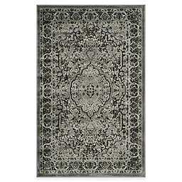 Safavieh Paradise Bloom 2-Foot 7-Inch x 4-Foot Rug in Light Grey/Anthracite