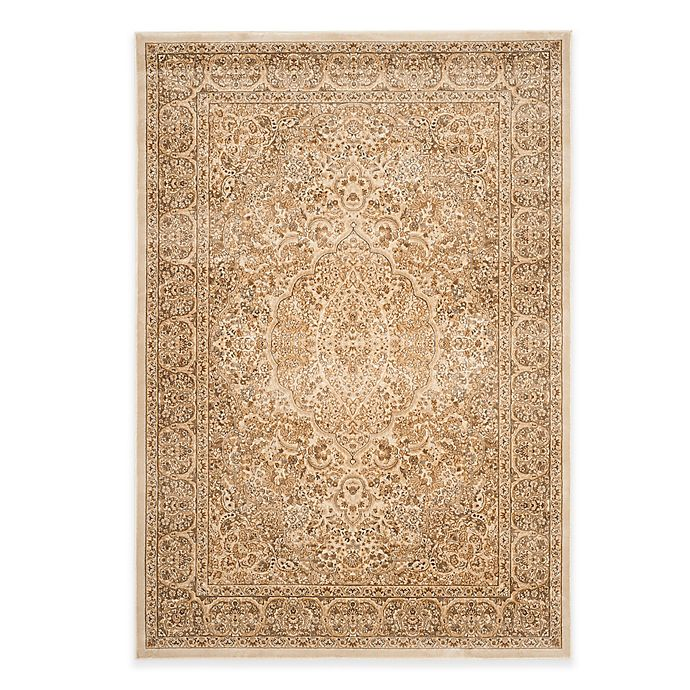 Alternate image 1 for Safavieh Paradise Bloom 8-Foot x 11-Foot 2-Inch Rug in Stone/Cream