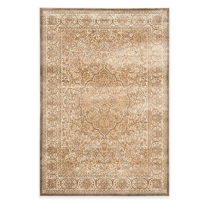 Alternate image 1 for Safavieh Paradise Bloom 8-Foot x 11-Foot 2-Inch Rug in Mouse/Silver
