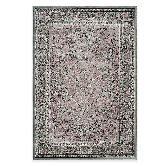 Alternate image 1 for Safavieh Paradise Bloom 8-Foot x 11-Foot 2-Inch Rug in Light Grey/Spruce