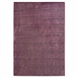 Safavieh Paradise Block 5-Foot 3-Inch x 7-Foot 6-Inch Rug in Purple