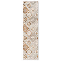 Safavieh Vintage Tribal Diamond 2-Foot x 7-Foot Runner in Cream