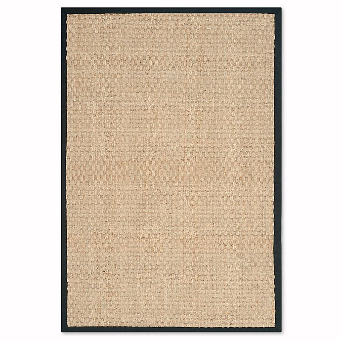 Alternate image 1 for Safavieh Natural Fiber Johanna 4-Foot x 6-Foot Area Rug in Natural/Brown