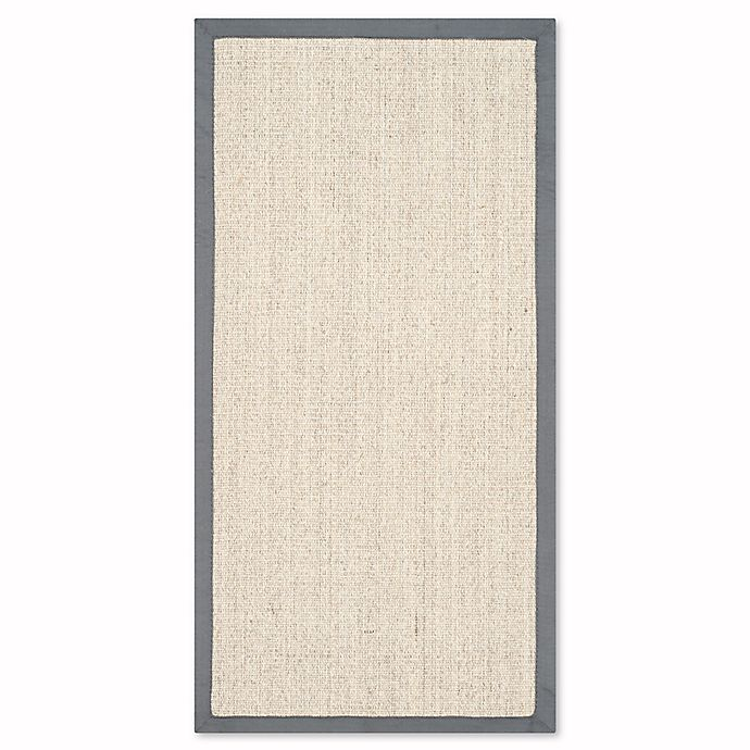 Alternate image 1 for Safavieh Natural Fiber Madeline 2-Foot x 3-Foot Accent Rug in Marble/Grey