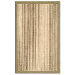 Safavieh Natural Fiber Courtney 2-Foot 6-Inch x 4-Foot Accent Rug in Green