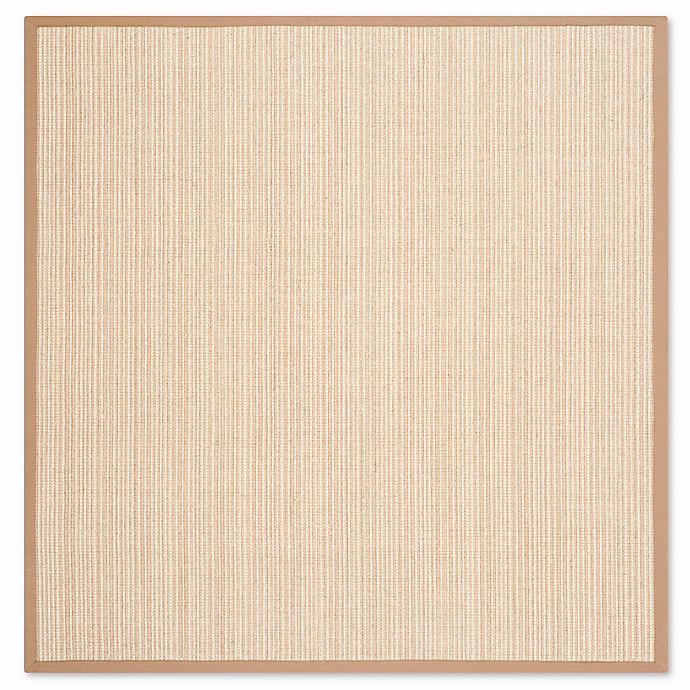 Alternate image 1 for Safavieh Natural Fiber Courtney 6-Foot Square Area Rug in Tan