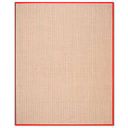 Safavieh Natural Fiber Courtney 5-Foot x 7-Foot 6-Inch Area Rug in Rust