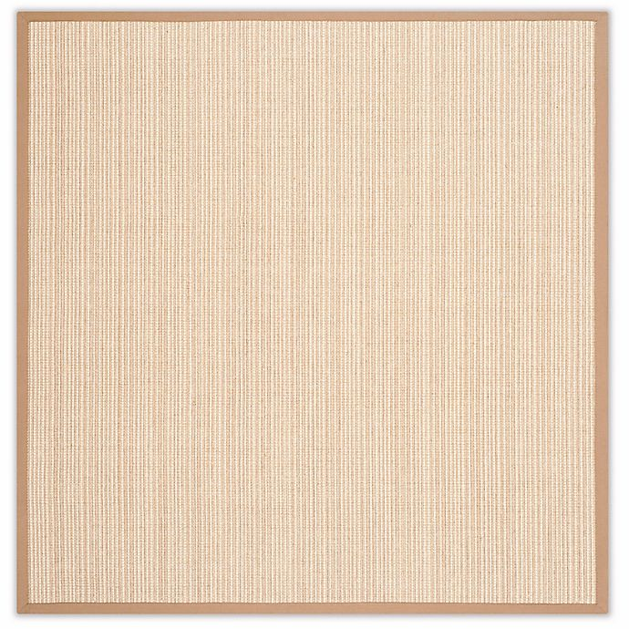 Alternate image 1 for Safavieh Natural Fiber Courtney 8-Foot Square Area Rug in Tan