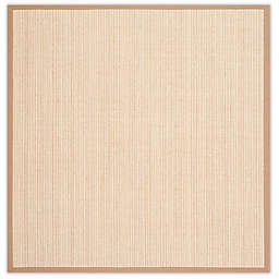 Safavieh Natural Fiber Courtney 8-Foot Square Area Rug in Tan