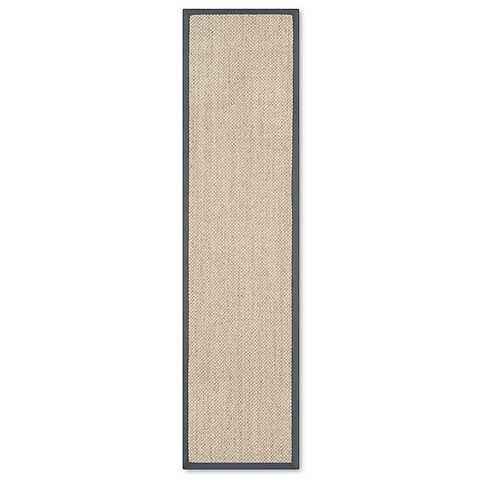 Alternate image 1 for Safavieh Madison Natural Fiber 2-Foot x 12-Foot Area Rug in Marble/Grey