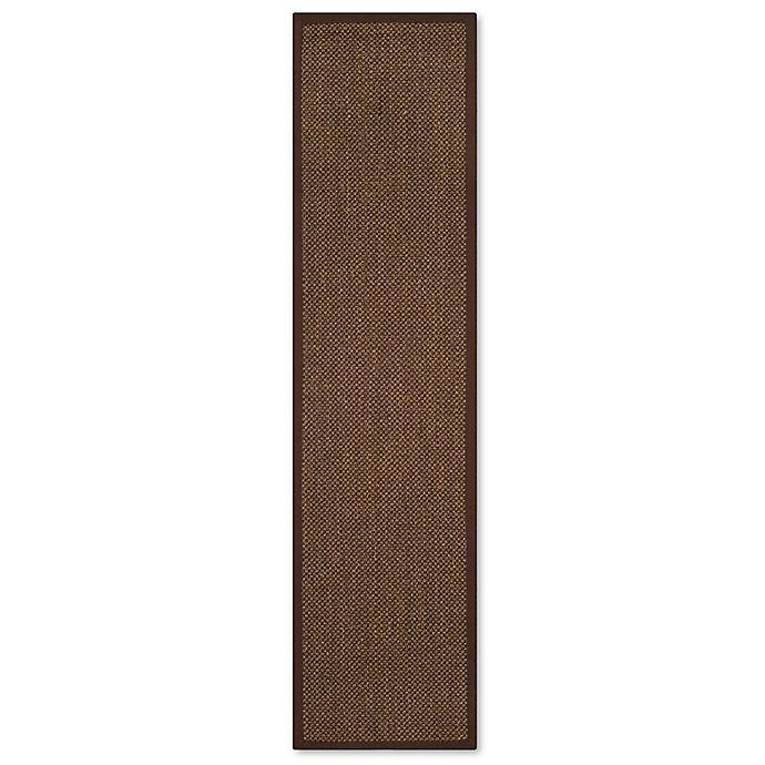 Alternate image 1 for Safavieh Madison Natural Fiber 2-Foot x 12-Foot Area Rug in Brown