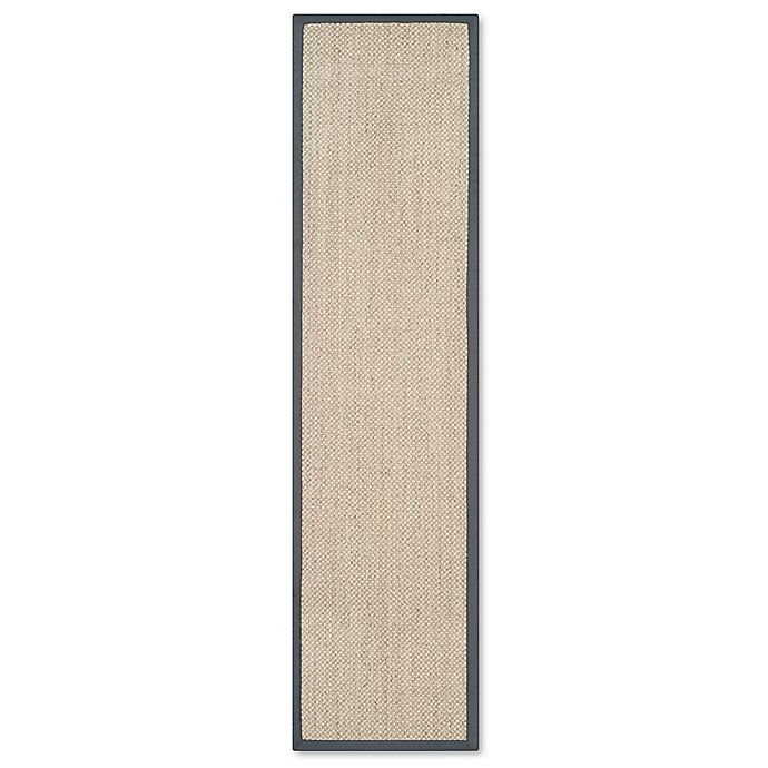 Alternate image 1 for Safavieh Madison Natural Fiber 2-Foot 6-Inch x 12-Foot Area Rug in Marble/Grey