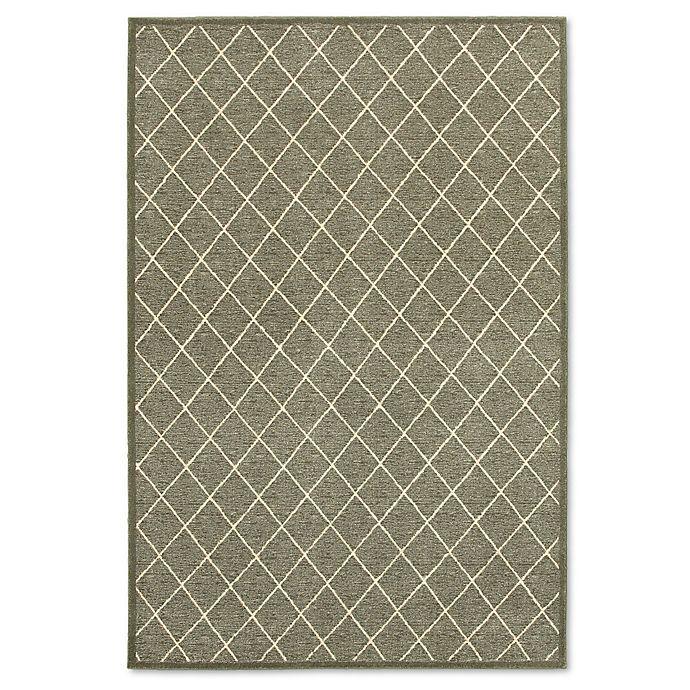 Alternate image 1 for Oriental Weavers Ellerson Trellis 5-Foot 3-Inch x 7-Foot 6-Inch Area Rug in Grey