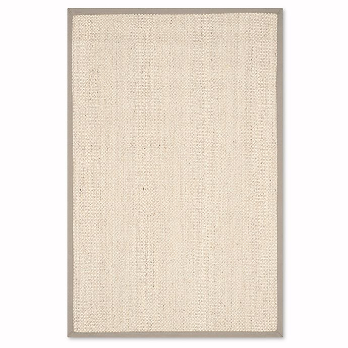 Alternate image 1 for Safavieh Natural Fiber Collection Olivia 2-Foot 6-Inch x 4-Foot Rug in Marble/Khaki