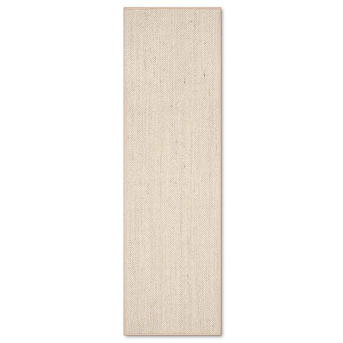 Alternate image 1 for Safavieh Natural Fiber Collection Olivia 2-Foot 6-Inch x 8-Foot Rug in Marble/Linen