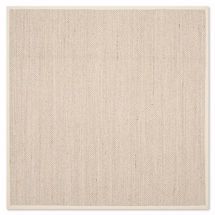 Alternate image 1 for Safavieh Natural Fiber Collection Olivia 6-Foot x 6-Foot Rug in Marble/Beige