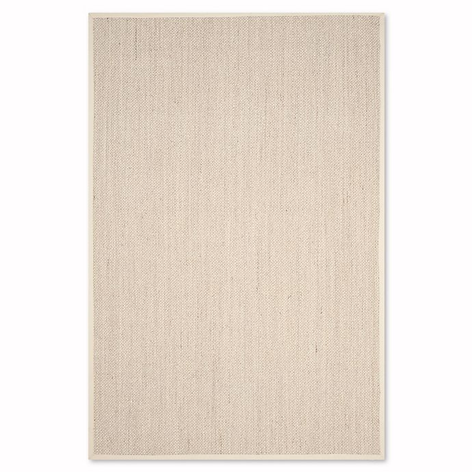 Alternate image 1 for Safavieh Natural Fiber Collection Olivia 6-Foot x 9-Foot Rug in Marble/Beige