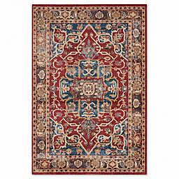 Safavieh Bijar Tehran 6-Foot 7-Inch x 9-Foot Area Rug in Red/Royal