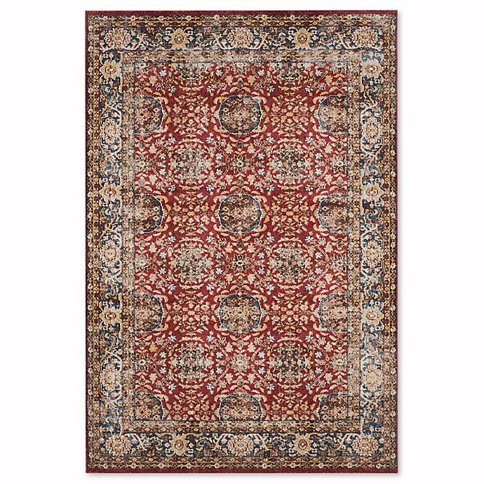 Alternate image 1 for Safavieh Bijar 6-Foot 7-Inch x 9-Foot Tabriz Rug in Red