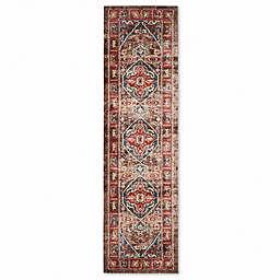 Safavieh Bijar 2-Foot 3-Inch x 8-Foot Shiraz Rug in Brown
