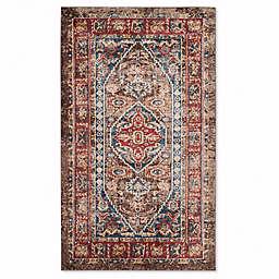 Safavieh Bijar 4-Foot x 6-Foot Shiraz Rug in Brown