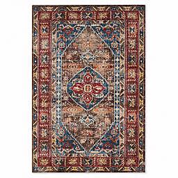 Safavieh Bijar 5-Foot 3-Inch x 7-Foot 6-Inch Shiraz Rug in Brown