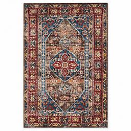 Safavieh Bijar 6-Foot 7-Inch x 9-Foot Shiraz Rug in Brown
