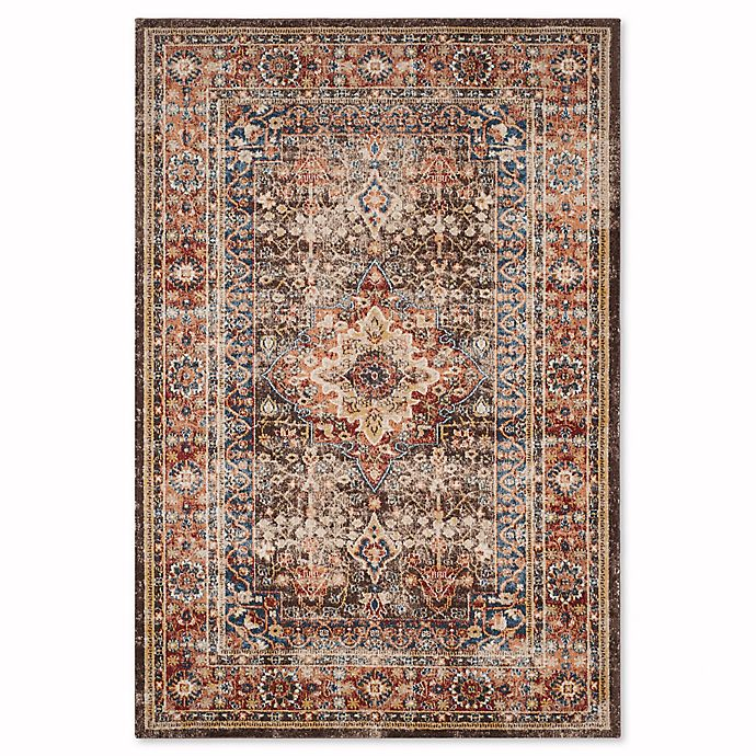 Alternate image 1 for Safavieh Bijar Sari 6-Foot 7-Inch x 9-Foot Area Rug in Brown/Rust