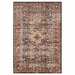 Safavieh Bijar Sari 6-Foot 7-Inch x 9-Foot Area Rug in Brown/Rust