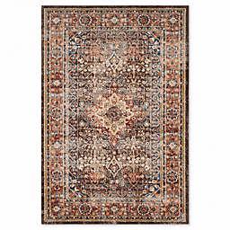 Safavieh Bijar Sari 8-Foot x 10-Foot Area Rug in Brown/Rust