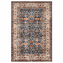 Safavieh Bijar Babol Area Rug in Royal/Ivory
