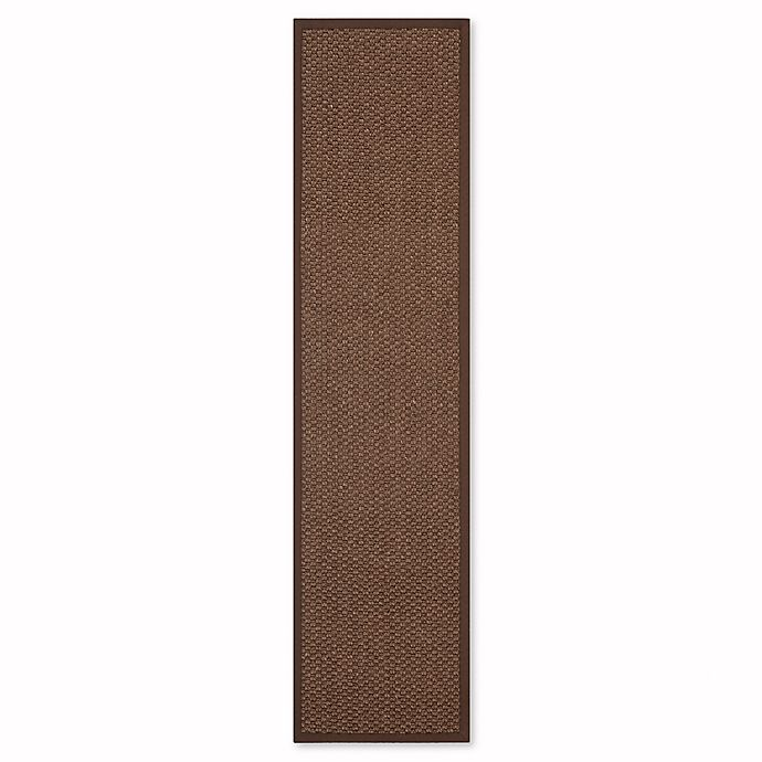 Alternate image 1 for Safavieh Natural Fit 2-Foot x 8-Foot Shannon Area Rug in Chocolate