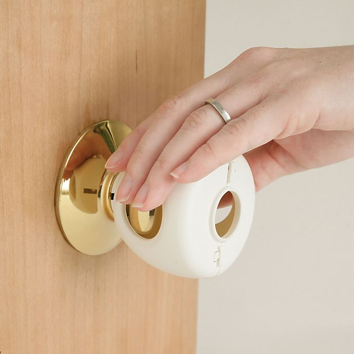Alternate image 1 for Safety 1st® Grip N' Twist 4-Pack Door Knob Covers