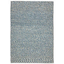Safavieh Natural Fiber Penelope 3-Foot x 5-Foot Area Rug in Blue/Ivory
