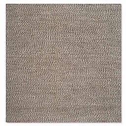Safavieh Natural Fiber Penelope 8-Foot x 8-Foot Area Rug in Grey/Grey