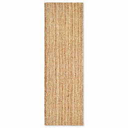 Safavieh Natural Fiber Mallory 2-Foot x 14-Foot Runner in Natural