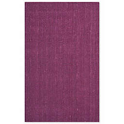 Safavieh Natural Fiber Mallory 3-Foot x 5-Foot Area Rug in Purple