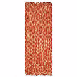 Safavieh Natural Fiber 2-Foot 6-Inch x 14-Foot Skylar Rug in Rust