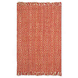 Safavieh Natural Fiber 5-Foot x 8-Foot Skylar Rug in Rust