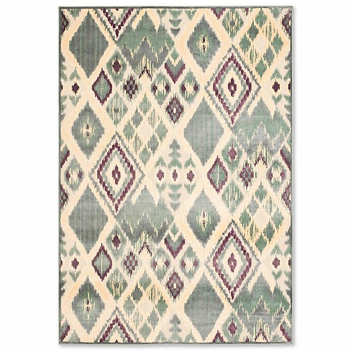 Alternate image 1 for Safavieh Paradise Navajo-Inspired 8-Foot x 11-Foot 2-Inch Rug in Grey