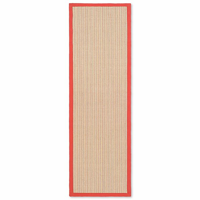 Alternate image 1 for Safavieh Natural Fiber Collection Courtney 2-Foot x 8-Foot Rug in Rust