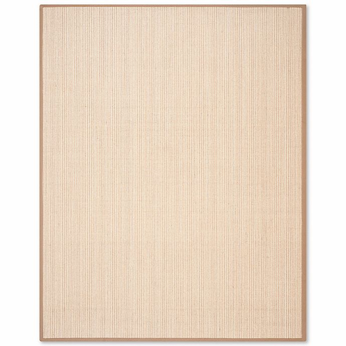 Alternate image 1 for Safavieh Natural Fiber Collection Courtney 7-Foot 6-Inch x 9-Foot 6-Inch Rug in Tan