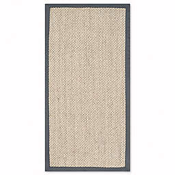 Safavieh Natural Fiber Collection Madison 2-Foot 6-Inch x 4-Foot Rug in Marble/Grey