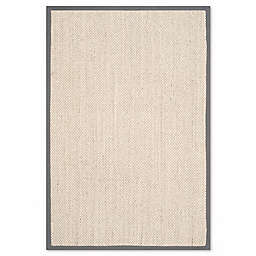 Safavieh Natural Fiber Collection Madison 5-Foot x 8-Foot Rug in Marble/Grey