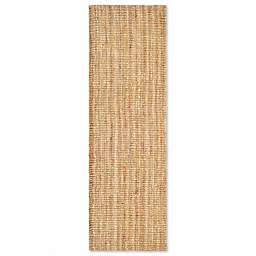 Safavieh Natural Fiber 2-Foot x 20-Foot Mallory Runner Rug in Natural