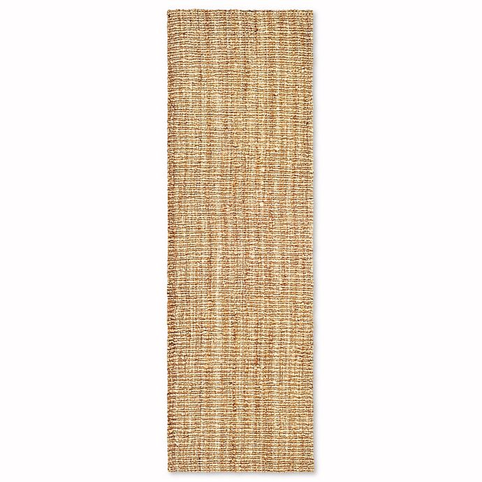 Alternate image 1 for Safavieh Natural Fiber 2-Foot 6-Inch x 20-Foot Mallory Runner Rug in Natural